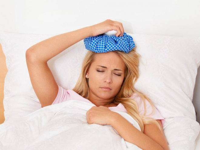 Острый приступ мигрени