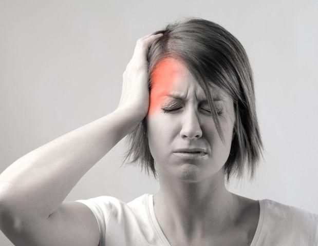 Болит левая лобная часть головы. Болит левая сторона головы