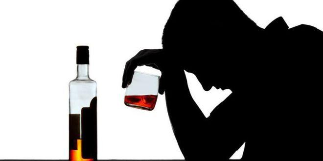 тень с алкоголем