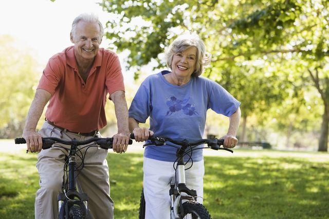 Здоровые пенсионеры