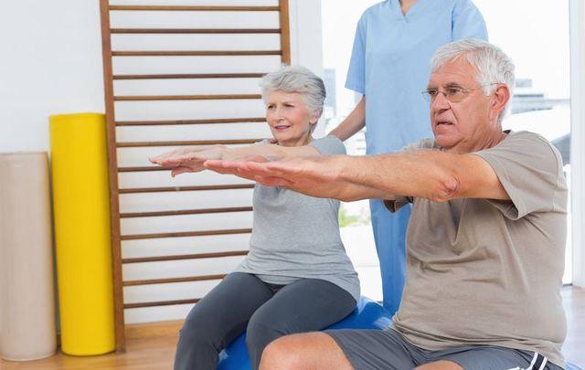 Упражнения для больных