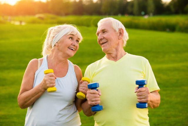 Спорт и пенсионеры