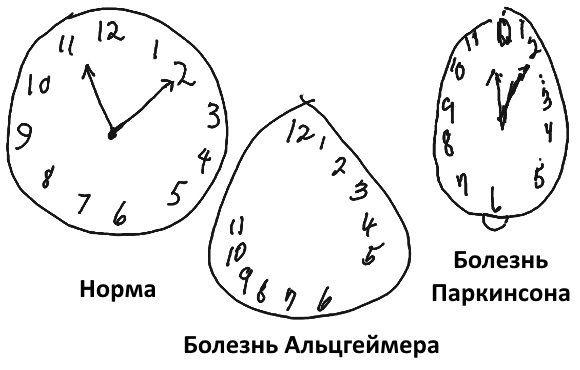 Тест часы