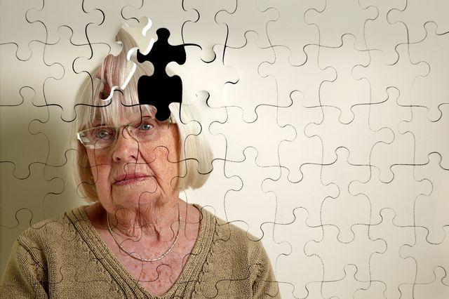 Женщина потеряла память